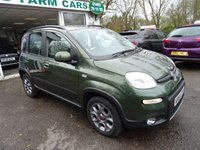 USED 2014 64 FIAT PANDA 0.9 TWINAIR TREKKING 5d 85 BHP Low Mileage, Full Service History + Just Serviced by ourselves, One Owner from new, MOT until February 2019 (no advisories), Excellent fuel economy! Only £20 Road Tax! Low Insurance Group!