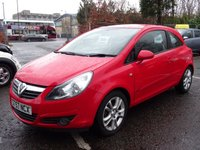 USED 2007 57 VAUXHALL CORSA 1.2 SXI 16V 3d 80 BHP 1 PREVIOUS KEEPER +  MOT DECEMBER 2018 ++   SERVICE RECORD +