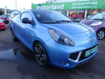 2011 RENAULT WIND ROADSTER 1.1 GT LINE TCE 2d 100 BHP £4700.00