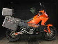 2008 KTM 990 ADVENTURE 08. RECENT SERVICE + VALVES. FUEL PIPES. ABS. H GRIPS. 16K MILES £6250.00
