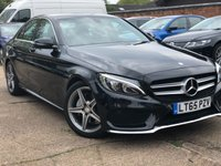 USED 2015 65 MERCEDES-BENZ C CLASS 2.1 C220 D AMG LINE 4d AUTO 170 BHP Vat qualifying car, price includes VAT. Leather, Nav, Reverse camera.