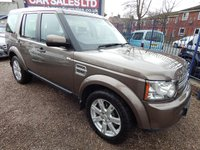 2010 LAND ROVER DISCOVERY 3.0 4 TDV6 GS 5d AUTO 245 BHP £10995.00
