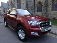 2016 FORD RANGER 2.2 LIMITED 4X4 DCB TDCI 1d 158 BHP £SOLD