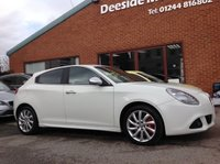 USED 2013 13 ALFA ROMEO GIULIETTA 1.4 MULTIAIR VELOCE TB 5d 170 BHP Alfa Blue & Me media system,     Alfa DNA system - Dynamic - Normal - All Weather,     Bluetooth,     Part leather upholstery,    Rear parking sensors