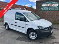 USED 2016 16 VOLKSWAGEN CADDY 1.6 C20 PLUS TDI STARTLINE 1d 74 BHP T Rack Roof Bars, Only 12,000 Miles, New Shape, One Owner, Finance Arranged.