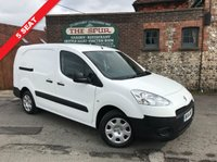 USED 2014 14 PEUGEOT PARTNER 1.6 HDI CRC 1d 90 BHP 5 Seat, Two Side Loading Door, Long Wheel Base, One Owner.