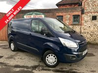 USED 2015 15 FORD TRANSIT CUSTOM 2.2 270 TREND LR P/V 1d 100 BHP Only 24,000 Miles, Trend, Bluetooth Phone Connectivity, Finance Arranged.