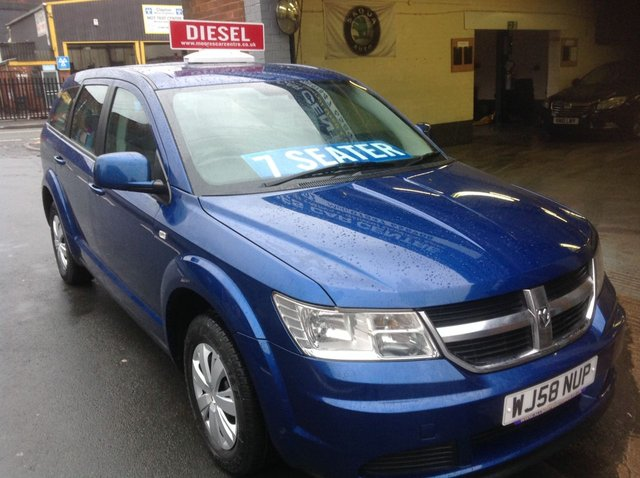 2008 58 DODGE JOURNEY 2.0 SE CRD    7 SEATER