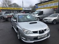 USED 2007 07 SUBARU IMPREZA 2.5 WRX 4 DOOR 227 BHP IN SILVER WITH ONLY 51000 MILES. APPROVED CARS ARE PLEASED TO OFFER THIS  SUBARU IMPREZA 2.5 WRX 4 DOOR 227 BHP IN SILVER WITH ONLY 51000 MILES IN IMMACULATE CONDITION,THIS CAR IS COMPLETELY STANDARD AND HAS NOT BEEN TOUCHED OTHER THAN SERVICING WHICH IS A FULL SERVICE HISTORY SERVICED AT 1K,5K,12K,18K,25K,32K AND RECENTLY AT 49K A TRULY GENUINE LOW MILEAGE IMPREZA THAT HAS BEEN WELL LOOKED AFTER.