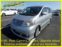 USED 2003 03 TOYOTA ALPHARD 2.4 AS 8 Seats, Rear Camera, Aerokit, Upgrade alloys. +ONLY 46K+FULL AEROKIT+