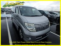 2005 NISSAN ELGRAND 3.5 Highway Star 4WD, Auto 8 Seat,Twin Power Doors, Rear and Side Camera £8000.00