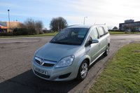 USED 2009 09 VAUXHALL ZAFIRA 1.9 EXCLUSIV CDTI 7 SEATER,Full Service History 7 Seater,Full Service History,Very Clean