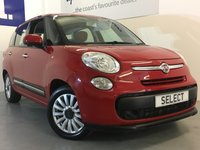 2015 FIAT 500L MPW 1.2 MULTIJET POP STAR DUALOGIC 5d AUTO 85 BHP £6999.00