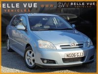 2006 TOYOTA COROLLA 1.4 T3 COLOUR COLLECTION VVT-I 5d 92 BHP £1995.00