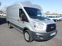 2016 FORD TRANSIT 350 TREND L4 H3 EXTRA LWB Hightop 2.2Tdci 125Ps £15995.00