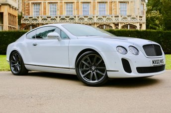 2011 BENTLEY CONTINENTAL 6.0 SUPERSPORTS 2d AUTO 621 BHP £64990.00