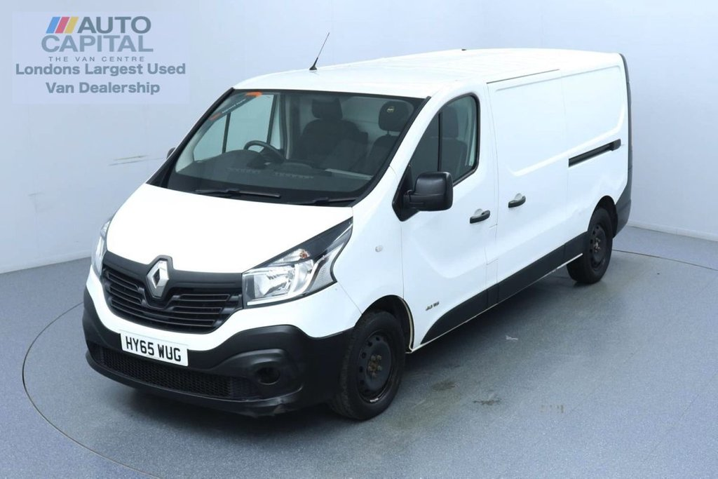USED 2015 65 RENAULT TRAFIC 1.6 LL29 Business DCI LWB 115 BHP Trade sale only | No warranty | One owner | Eco Mode | Bluetooth Connectivity