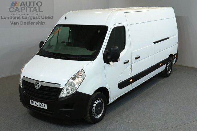 2015 65 VAUXHALL MOVANO 2.3 F3500 109 BHP LWB HIGH ROOF ONE OWNER FROM NEW, SERVICE HISTORY
