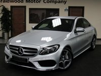 USED 2016 66 MERCEDES-BENZ C CLASS 2.1 C300 H AMG LINE 4d AUTO 204 BHP