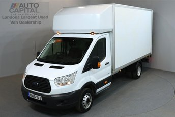 2015 FORD TRANSIT 2.2 350 DRW 3d 124 BHP L3 LONG WHEELBASE REAR TAIL LIFT FITTED LUTON VAN £13490.00
