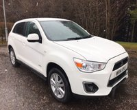 USED 2014 14 MITSUBISHI ASX 1.8 DI-D 3 5d 114 BHP 6 MONTHS PARTS+ LABOUR WARRANTY+AA COVER