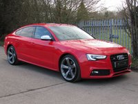 USED 2015 15 AUDI S5 3.0 S5 SPORTBACK TFSI QUATTRO BLACK EDITION 5d AUTO 328 BHP VAT Qualifying Car
