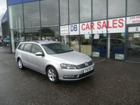 2011 VOLKSWAGEN PASSAT 1.6 S TDI BLUEMOTION TECHNOLOGY 5d 104 BHP £5995.00