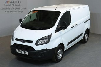 2015 FORD TRANSIT CUSTOM 2.2 290 L1 H1 SHORT WHEELBASE LOW ROOF 5d 99 BHP £8890.00