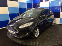 USED 2014 14 FORD FIESTA 1.0 ZETEC 3d 99 BHP A very clean example of this highly regarded family hatchback finished in unmarked metalic black paintwork contrasted with silver alloy wheels,This car returns a very impressive combined mpg of 65.7coupled with free road tax,deffinitely one to be viewed .This car is recorded on v car as cat d  but looks and drives superbly any inspection is welcomed ,the minor repair is reflected in the price conciderably lower than market value.
