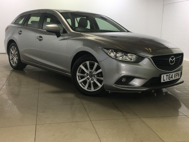 View our 2014 64 MAZDA 6 2.2 D SE NAV 5d 148 BHP