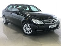 USED 2014 14 MERCEDES-BENZ C CLASS 2.1 C220 CDI BLUEEFFICIENCY EXECUTIVE SE 4d 168 BHP 1 Owner/Sat Nav/Leather