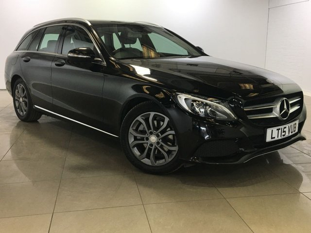 View our 2015 15 MERCEDES-BENZ C CLASS 2.1 C220 BLUETEC SPORT 5d 170 BHP