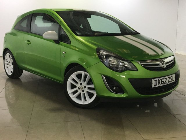 View our 2012 62 VAUXHALL CORSA 1.2 SXI AC 3d 83 BHP