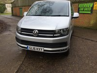 USED 2016 16 VOLKSWAGEN TRANSPORTER 2.0 T30 TDI P/V HIGHLINE BMT 1d AUTO 138 BHP RECENT SERVICE AT VW AND DSG GEARBOX SERVICE,