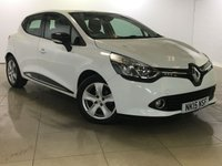 USED 2015 15 RENAULT CLIO 1.5 DYNAMIQUE MEDIANAV ENERGY DCI ECO2 S/S 5d 90 BHP 1 Owner/Sat Nav/Bluetooth