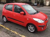 USED 2008 58 HYUNDAI I10 1.1 COMFORT 5d 65 BHP PRICE INCLUDES A 6 MONTH AA WARRANTY DEALER CARE EXTENDED GUARANTEE, 1 YEARS MOT AND A OIL & FILTERS SERVICE. 6 MONTHS FREE BREAKDOWN COVER.