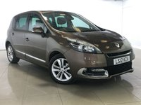 USED 2012 12 RENAULT SCENIC 1.5 DYNAMIQUE TOMTOM LUXE ENERGY DCI S/S 5d 110 BHP 1 Owner/Panoramic Roof/Sat Nav