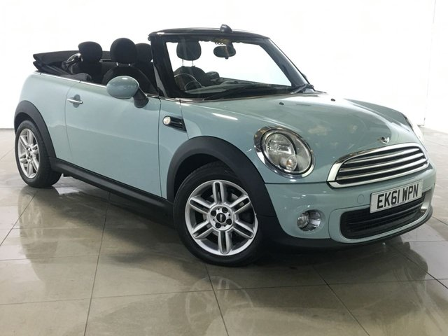 View our 2011 61 MINI CONVERTIBLE 1.6 ONE 2d 98 BHP