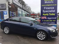 USED 2014 64 VAUXHALL INSIGNIA 2.0 ELITE NAV CDTI ECOFLEX S/S 5d 138 BHP, ONLY 30000 MILES ***GREAT FINANCE DEALS AVAILABLE***