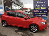 USED 2012 12 SEAT IBIZA 1.4 SE 5d 85 BHP, ONLY 44000 MILES ***GREAT FINANCE DEALS AVAILABLE***