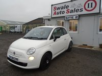 2011 FIAT 500 1.2 POP 3d 69 BHP £4295.00