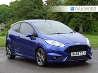 USED 2017 66 FORD FIESTA 1.6 ST-3 3d 180 BHP FINANCE AVAILABLE