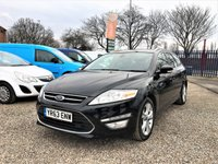 2013 FORD MONDEO 2.0 TITANIUM X BUSINESS EDITION TDCI 5d 161 BHP £7700.00