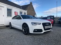 USED 2015 65 AUDI A5 Black Edition Plus Quattro 2.0 TDI 5dr ( 190 bhp ) One Lady Owner Immaculate Car with Low Mileage and a Big Spec