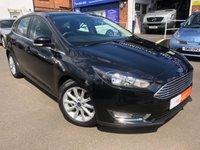 2015 FORD FOCUS 1.6 TITANIUM 5d AUTO 124 BHP £SOLD
