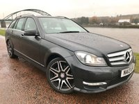 2013 MERCEDES-BENZ C CLASS 2.1 C220 CDI BLUEEFFICIENCY AMG SPORT PLUS 5d AUTO 168 BHP £SOLD