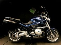 2010 BMW R1200 R . 2010. FSH. ABS. ASC. OBC. H GRIPS. PANNIERS. VERY VERY CLEAN BIKE £5495.00