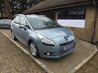 USED 2010 60 PEUGEOT 5008 1.6 HDI EXCLUSIVE 5d 112 BHP FULL SERVICE HISTORY, 2 KEYS, HEATED SEATS, PAN-ROOF, PARKING SENSORS