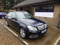 2013 MERCEDES-BENZ C CLASS 2.1 C220 CDI BLUEEFFICIENCY EXECUTIVE SE 5d AUTO 168 BHP £9495.00