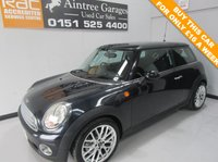 USED 2008 08 MINI HATCH ONE 1.4 ONE 3d 94 BHP NEW MODEL JUST IN LOW TAX AND INSURANCE